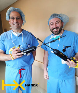 Dr. Matthew Burstein (pictured on the right) and Dr. Alan Posner (on the left) at Buffalo General Medical Center.